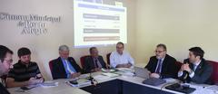Audiencia publica para apresentação e debate da lei Orçamentaria Anual.Com a presença do secretario Busatto.