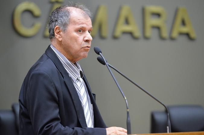 Movimentações de plenário. Na foto, o vereador Dr. Goulart.
