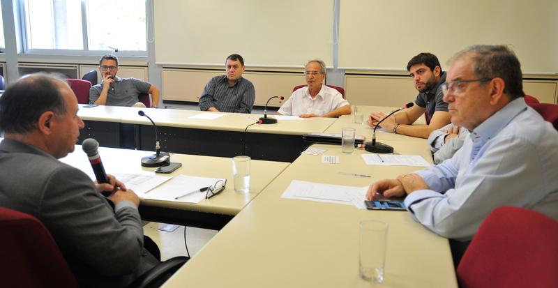 Reunião de prestação de contas do DMLU.