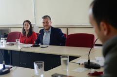 Reunião da CEDECONDH sobre parcerias público privadas e seus impactos na cidade de Porto Alegre. Na foto, o secretário Ramiro Rosário.