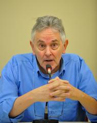Reunião para debater Planos de Saúde. Na foto, o Sr. Mauro Safir.