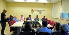 Reunião para debater Planos de Saúde.
