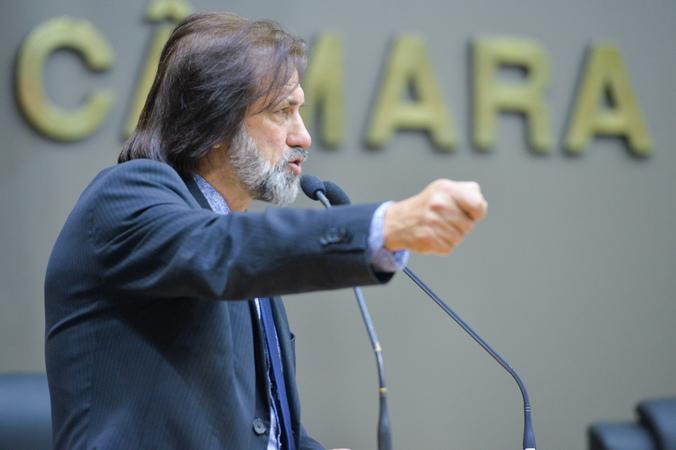 Movimentações de plenário. Na foto, o vereador Aldacir Oliboni.