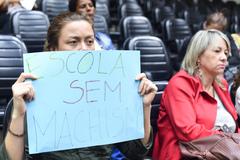 Votação foi acompanhada por manifestantes nas galerias do Plenário Otávio Rocha
