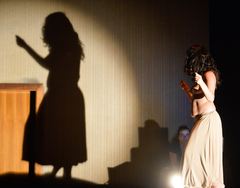 A bailarina Priya Konrad criou a peça durante sua gravidez