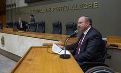 Vereador Paulo Brum, autor da proposta