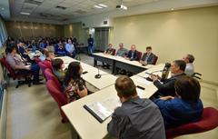 Vereadores ouviram representantes do Ministério da Agricultura e de produtores rurais na reunião desta terça-feira
