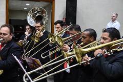Banda do La Salle São João recebeu Honra ao Mérito