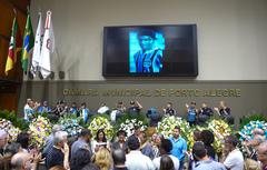 Corpo foi velado no Plenário Otávio Rocha