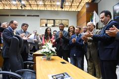 Vereadores fizeram homenagem póstuma ao colega durante a sessão