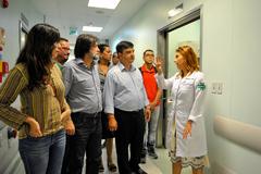 Vereadores verificaram as instalações do hospital na manhã desta terça