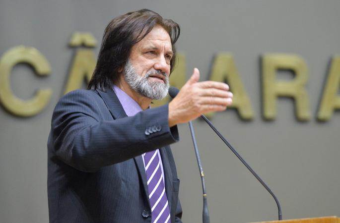 Movimentações de plenário. Na foto, o vereador Aldacir Oliboni
