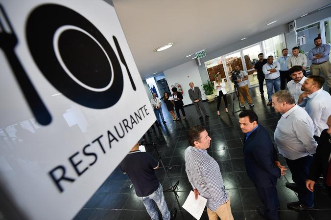 Inauguração do restaurante da Câmara Municipal.