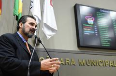 Vereador Claudio Janta, autor da proposta