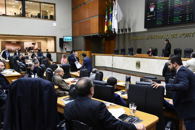 Movimentação de plenário
