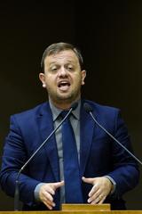Movimentações de plenário. Na foto, o vereador André Carús