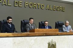 Sessão Solene em homenagem ao transcurso dos 70 anos da Pontificia Universidade Catolica do Rio Grande do Sul (PUC).