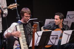 """Apresentação """"Luminoso - Elias Barboza Quinteto"""" na IV Mostra de Artes Cênicas e Música do Teatro Glênio Peres."""