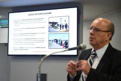 Schirmer apresentou ações da segurança pública estadual em Porto Alegre