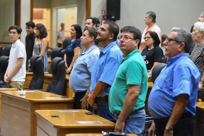 Outorga do título de Cidadão de Porto Alegre a Ademir Niffa, por proposição do vereador Adeli