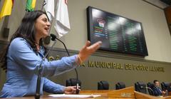 Fernanda lembrou as lutas travadas como vereadora
