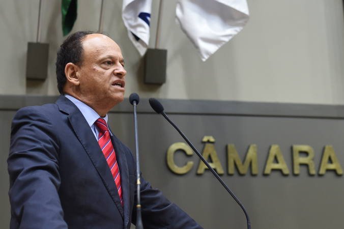 Movimentações de plenário. Na foto, o vereador João Bosco Vaz.