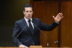 Vereador Valter Nagelstein (MDB) se despede da presidência da Casa