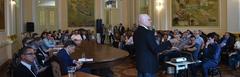 Professor Benamy Turkienicz apresentou o projeto