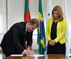 Cerimônia de Posse do novo diretor-geral da Câmara, Sílvio Zago.