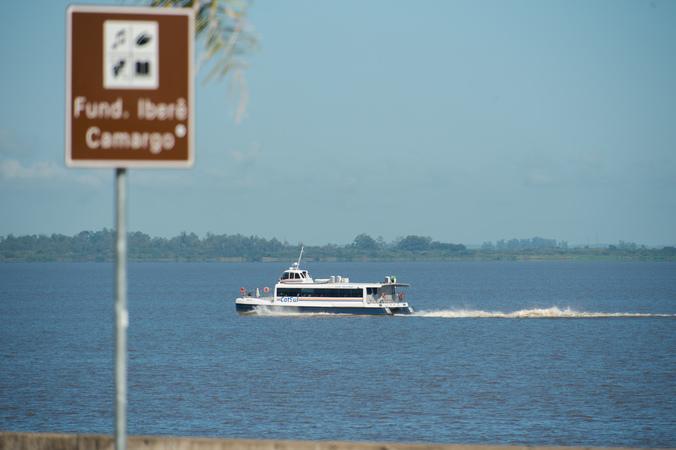 Catsul, Lago Rio Guaíba, Orla do Guaíba, Barco, Catamarã, Metroplan, Transporte Hidroviário. SFCMPA