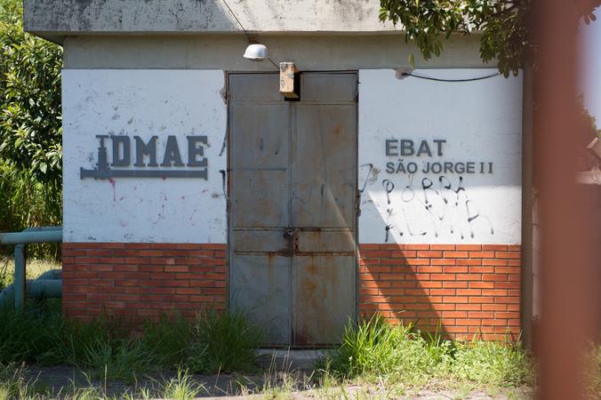 DMAE, Reservatório, Sistema de Abastecimento, Estação São Jorge, Água, Rede de àgua, Estação de Tratamento, SFCMPA
