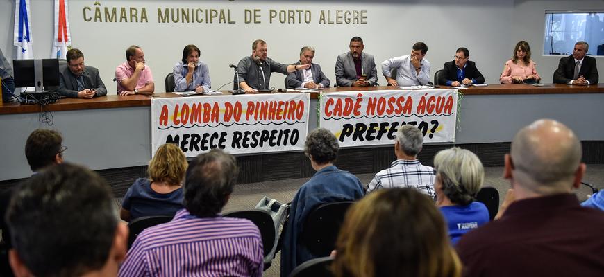 Vereadores ouviram Dmae e comunidades sobre a falta de água no sul da capital