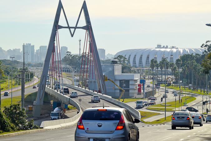 Av. Edvaldo Pereira Paiva, Av. Beira-Rio, Mobilidade Urbana, Trânsito, Sinalização, Zona Sul, Beira-Rio. SFCMPA
