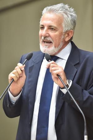 Na foto, o vereador Engenheiro Comassetto. (Foto: Elson Sempé Pedroso/CMPA)