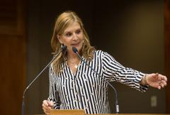 Vereadora Mônica Leal (PP), presidente da Câmara
