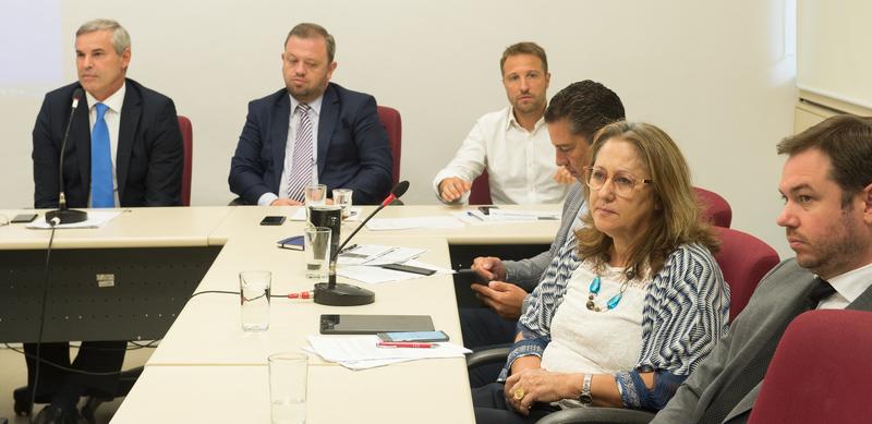 Reunião da Bancada do MDB com o Governo e representantes de Instituições do município.