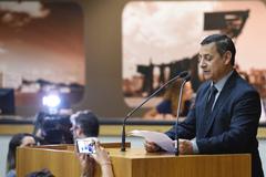 Ramalhou ocupou a tribuna do Plenário Otávio Rocha na tarde desta quinta-feira