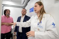 Vereadores da Cosmam verificaram os principais problemas enfrentados pela unidade de saúde