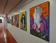 Mostra tem quadros da fotógrafa e ilustradora Lu Rezende