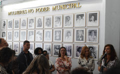 Galeria que agora pode ser acessada on-line está localizada no saguão do Plenário Otávio Rocha