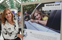 Presidente Monica Leal participa de Exposição de Fotos.