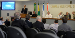 Debates foram realizados na manhã desta terça-feira na Câmara Municipal