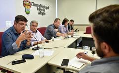 Reunião para tratar da UBS Vila dos Sargentos.