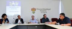 Fraga (d) participou de reunião na Cuthab nesta terça-feira