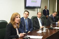 Mônica Leal elogiou proposta de apoio dos militares nas escolas estaduais