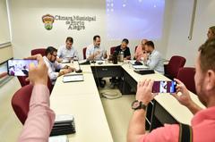 Reunião da comissão foi realizada na manhã desta terça-feira