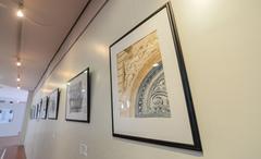 """Exposição """"Estatuárias Fachadistas"""" do Atelier Laky Gatti - aquarelas."""