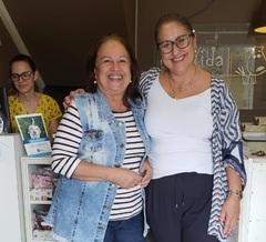Vereadora Lourdes e Zélia Cardoso