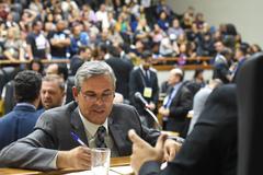 Movimentação de Plenário: na foto: vereador Mauro Pinheiro