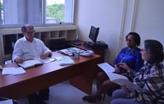 Dr. Goulart debate com representantes do Sindicato Médico do Rio Grande do Sul (SIMERS), as propostas para regramentos da presença de doulas em instituições de saúde, durante parto e pós-parto imediato.